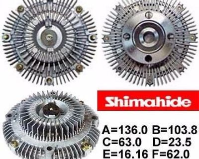 Fits 81-92 Toyota Supra Cressida 2.8l 3.0l Fan Clutch Shimahide New