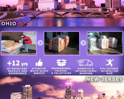 Packing Service, Inc. Palletizing Boxes and Shipping Services - Queens, New York