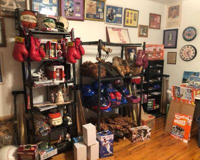 Amazing Sports Collectibles and More!