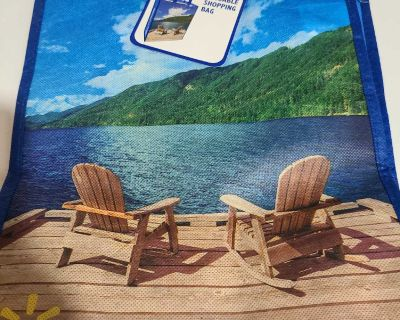 NEW Reusable Tote Bag with Beach chairs from Walmart