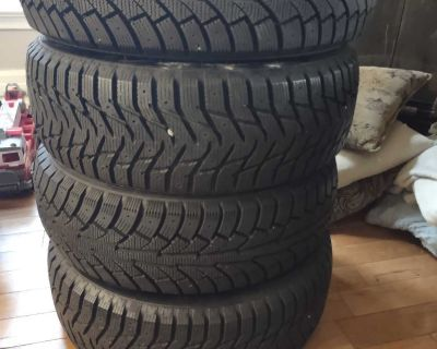 215/65R16 Winter Tires. Barely used.