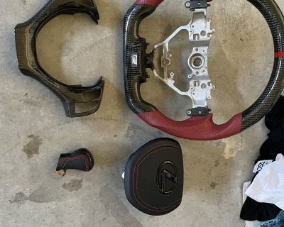 Lexus GS part out (Steering wheel, airbag cover, shift knob, etc)