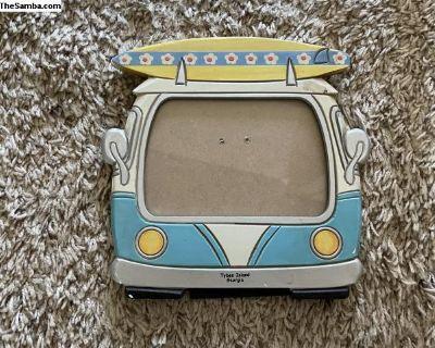 5x7 VW Split Window Bus Picture Frame