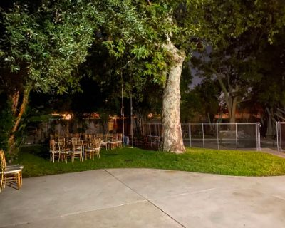 Private, Large Park-like Backyard with Swimming pool, North Hollywood, CA