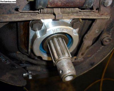 Billet Short Axle Bearing Caps