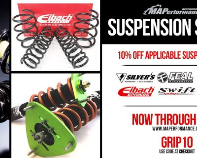 Suspension Sale! 10% Off with code: GRIP10