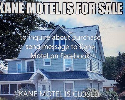 KANE MOTEL FOR SALE