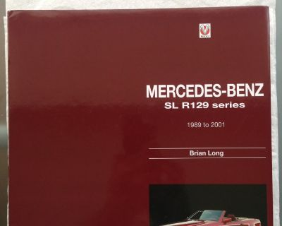 Mercedes-Benz SL R129 series 1989 to 2001 by Brian Long - Hardcover book $350