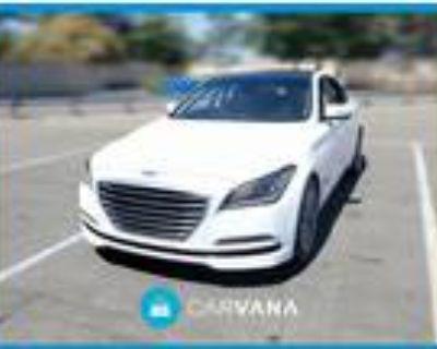 2015 Hyundai Genesis White, 92K miles