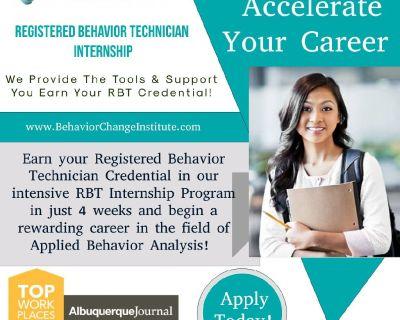 Registered Behavior Technician Internship
