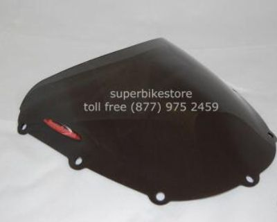Honda Cbr954rr Standard Shape Smoked Windshield Shield - Made In England