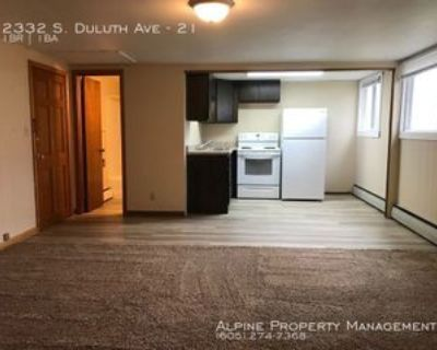 2332 S Duluth Ave #21, Sioux Falls, SD 57105 1 Bedroom Apartment