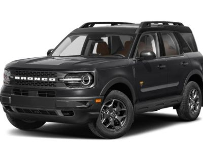 New 2021 Ford Bronco Sport Outer Banks 4WD Sport Utility