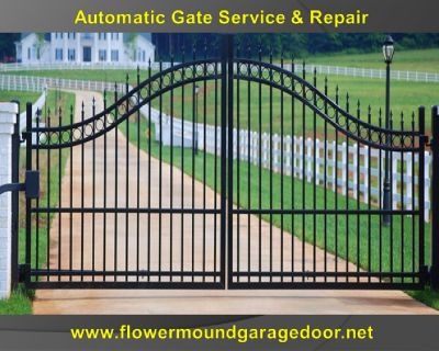 Expert Automatic Gate Repair Flower Mound, TX   972-402-5550   Same Day Service