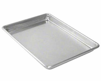 (4) new aluminum 18x26 sheet pans