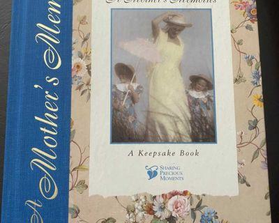 Mother s Memories Keepsake Book