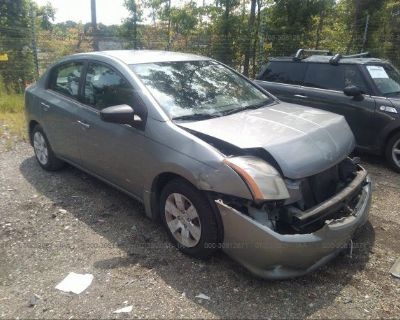 Salvage Gray 2010 Nissan Sentra