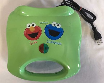 Elmo and cookie monster sandwich maker