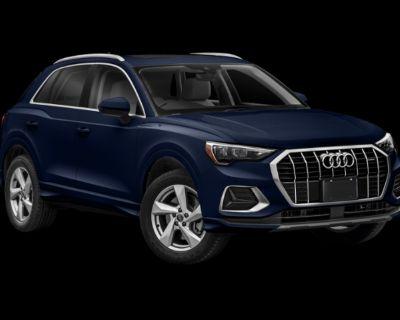 New 2022 Audi Q3 S line Premium All Wheel Drive SUV