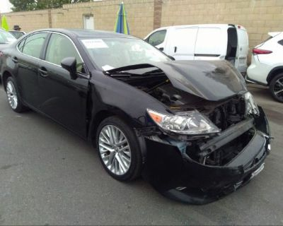 Salvage Black 2015 Lexus Es 350