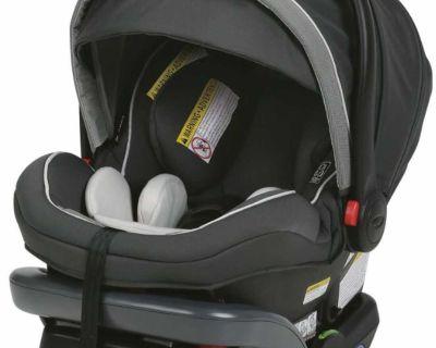 Graco SnugRide SnugLock 35 Elite Infant Car Seat, Oakley Gray