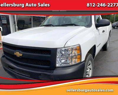 2012 Chevrolet Silverado 1500 Work Truck Pickup 2D 8 ft