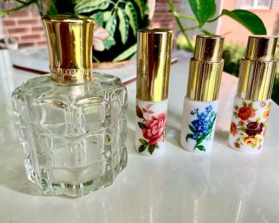 Perfume Atomizer Glass & Ceramic Bottle Collection