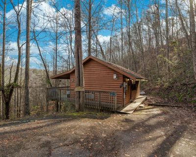 Rooster Way: Hot Tub, Heart Shaped Jetted Jacuzzi, Stone Gas Log Fireplace! - Pigeon Forge