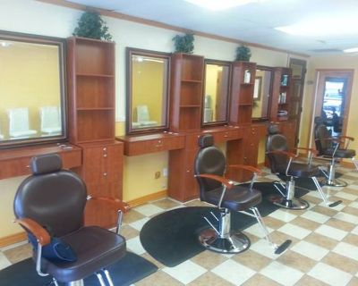 Two Barber Booth Available