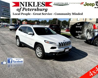 2015 Jeep Cherokee 4dr Limited 4WD