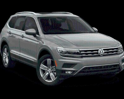 New 2021 Volkswagen Tiguan 2.0T SEL With Navigation & AWD