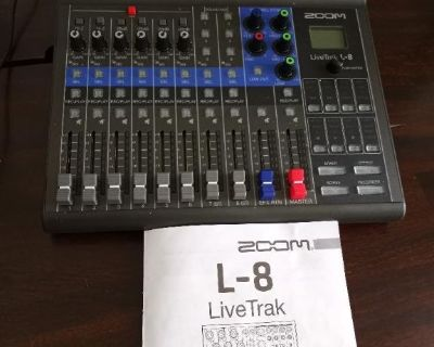 WANTED: Help learning my Zoom L-8 recording unit