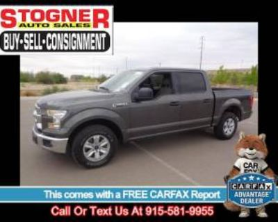 2015 Ford F-150 XLT SuperCrew 5.5' Box RWD