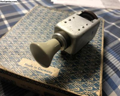 Karmann Ghia headlight switch