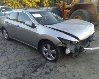 Salvage Silver 2010 Acura Tsx