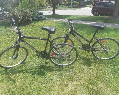His and Hers Adult Bikes with 26 Inch Tires