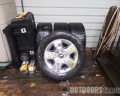 FS 20 inch chevrolet wheels and tires