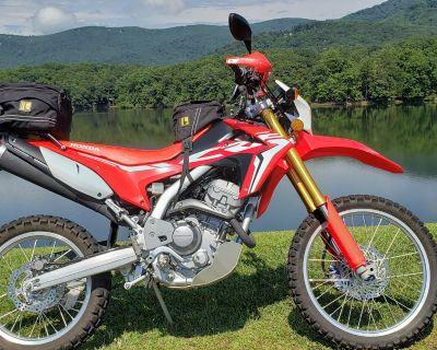 Georgia - 2017 Honda CRF250L Dual Sport Motorcycle Original Owner, Low Miles