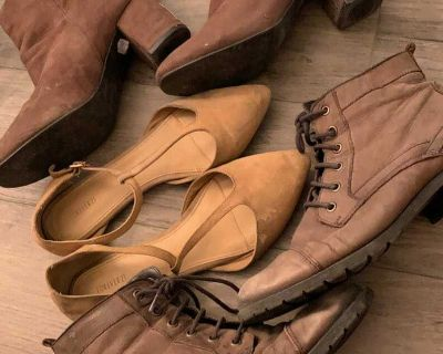 Free Suede shoes and boots