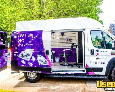 Beautiful Custom 2019 Dodge RAM 1500 Promaster Mobile Hair Salon Truck