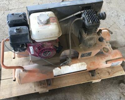 rigid portable gas air compressor