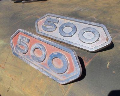 Dodge Power Wagon W500 Emblems
