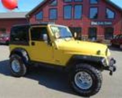 Used 2004 JEEP WRANGLER For Sale