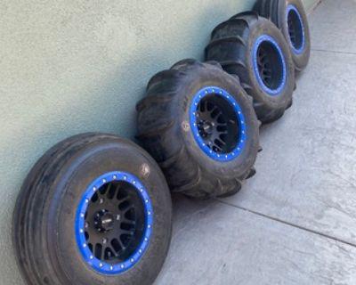 RZR xp1000 sand tire set up