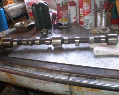 Ford tractor camshaft and distributor