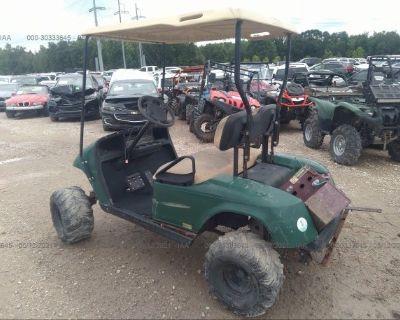 Salvage Green 2008 Ez-go Golf Cart