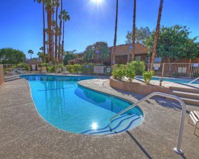 Zen Pool Villa - Original Art & Vintage Design - Pool & Jacuzzi - Ironwood - Palm Desert