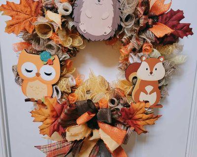 Fall Friends Wreath