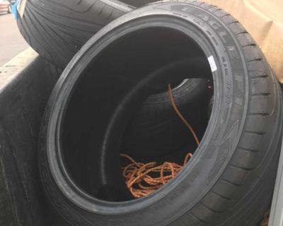 Tires brand new