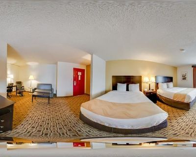 Quality Suites Airport-2 Queen Bed Non Smoking - Wichita